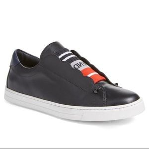 Fendi black leather Sneakers size 7 (37)